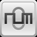 NUM SWIPER 3D icon
