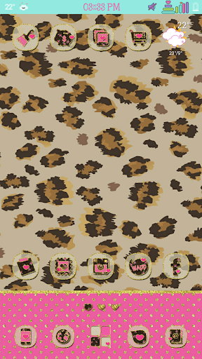 Safari Roses Go Launcher