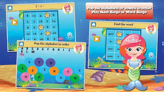 Mermaid Princess Grade 1 Games- screenshot thumbnail