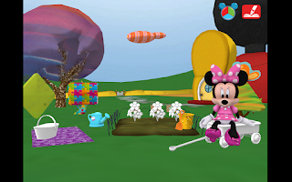 Screenshot of Mickey's Color and Play!
