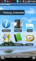 Screenshot of Pariwisata di Kota Padang