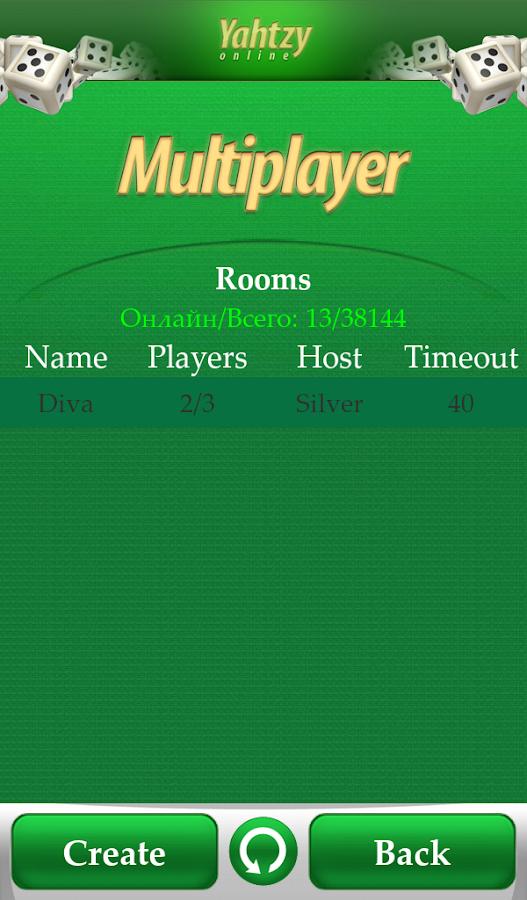 Yahtzy Online Lite - screenshot