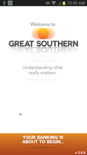 Great Southern Mobile Banking - screenshot thumbnail
