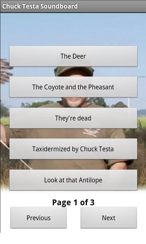 Chuck Testa Soundboard - screenshot