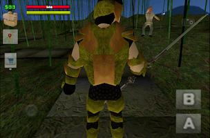 Screenshot of Ninja Rage - Open World RPG