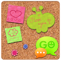 Free GO SMS Sweet Pinboard Theme APK for Windows 8