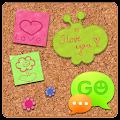 App GO SMS Sweet Pinboard Theme APK for Windows Phone