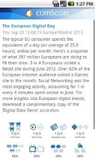comScore News- screenshot thumbnail