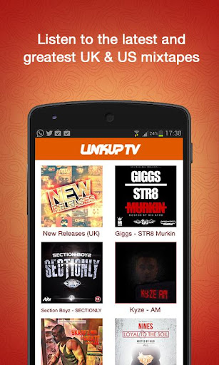 Link Up TV - Free Mixtapes App