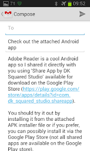 Share Apps Premium- screenshot thumbnail