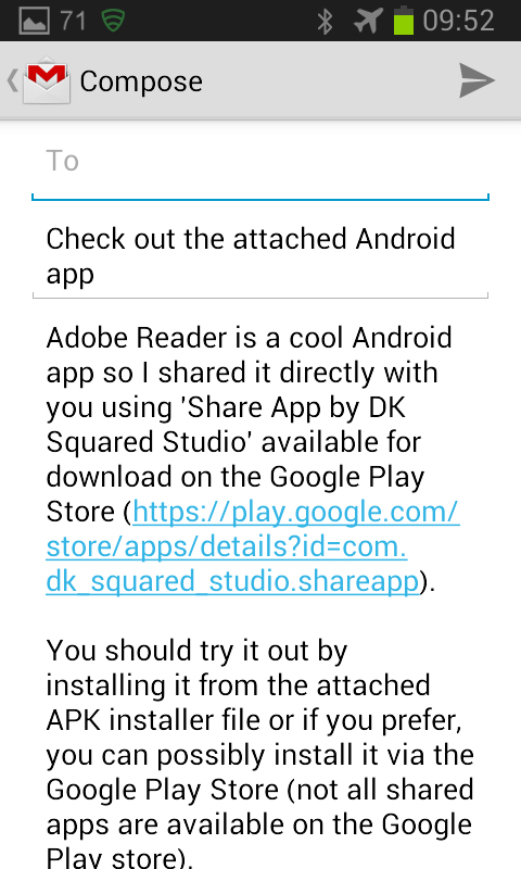 Share Apps Premium- screenshot
