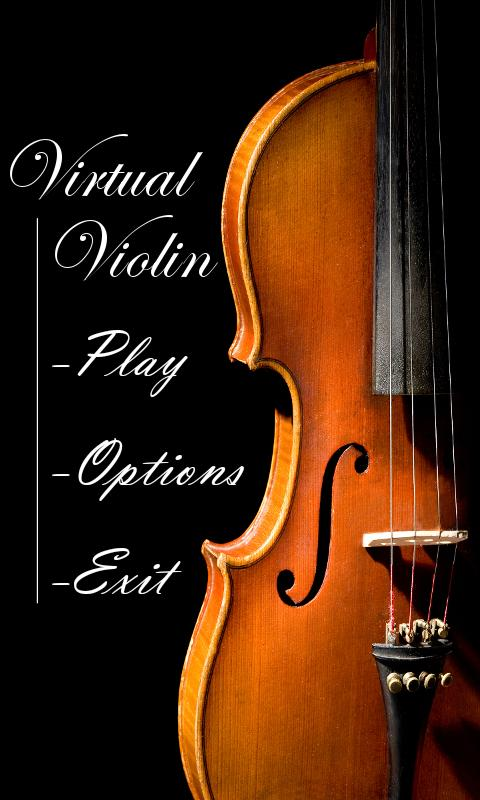 Virtual Violin - screenshot