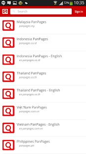 PanPages screenshot