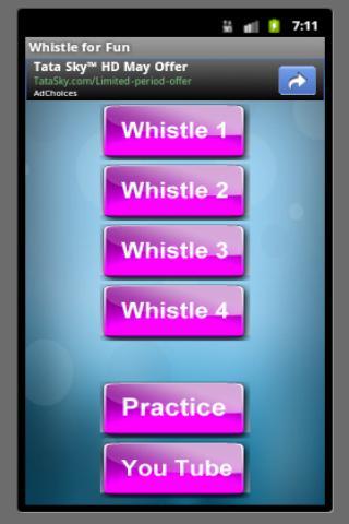 Fun Whistle- screenshot