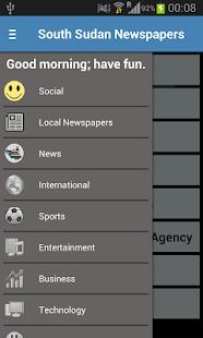 South Sudan Newspapers- screenshot thumbnail