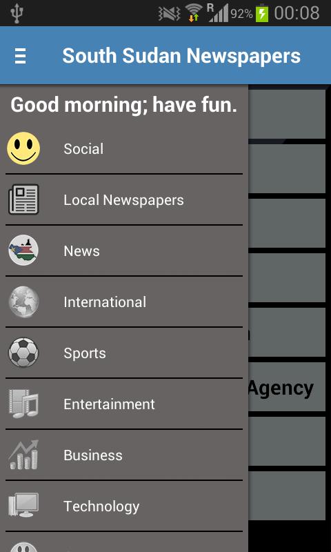 South Sudan Newspapers - screenshot