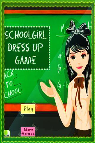 Schoolgirl DressUp