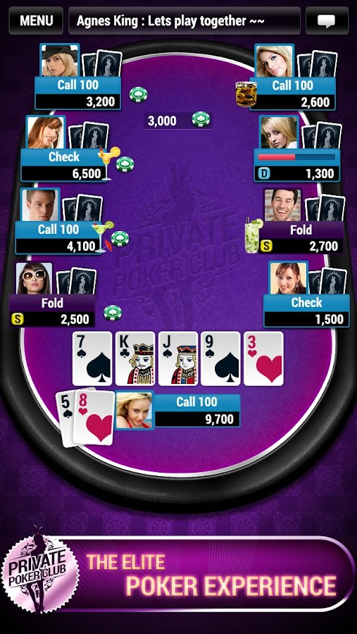 Private Poker Club- screenshot