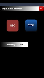 Simple Audio Recorder - screenshot thumbnail