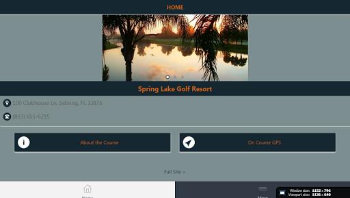 Spring Lake Golf Resort