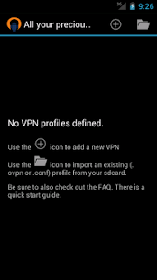 OpenVPN for Android - screenshot thumbnail