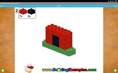 Buildings with building bricks- screenshot thumbnail