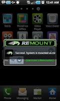 Screenshot of Remount