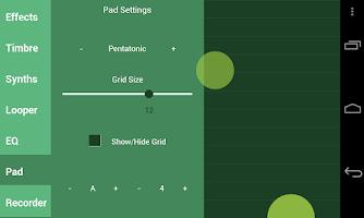 Screenshot of Saucillator