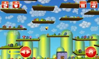 Screenshot of Bob Orange Platform Game