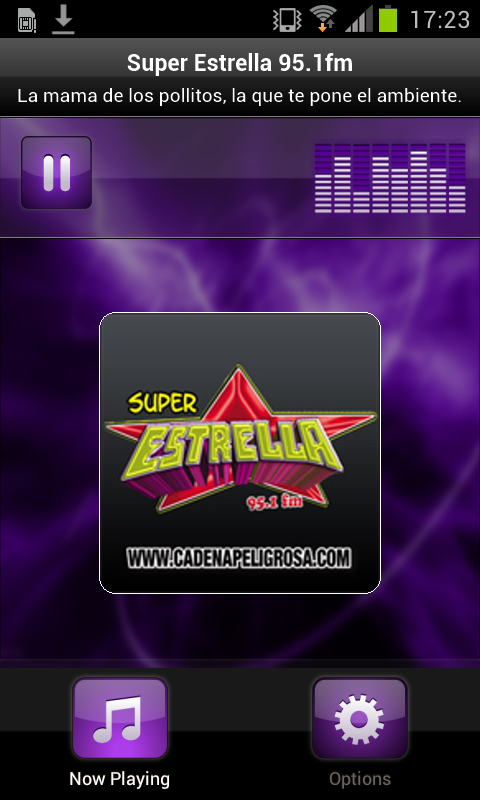 Super Estrella 95.1fm - screenshot
