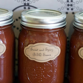 Sweet and Spicy BBQ Sauce.