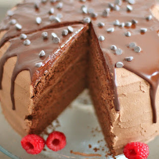Healthy Chocolate Therapy Cake (gluten free)