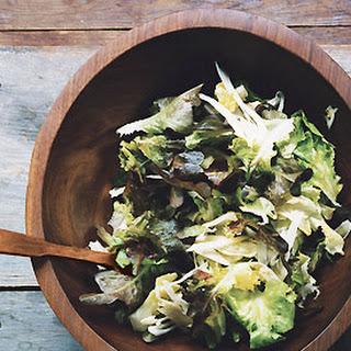 Escarole, Fennel, and Oak-Leaf Salad