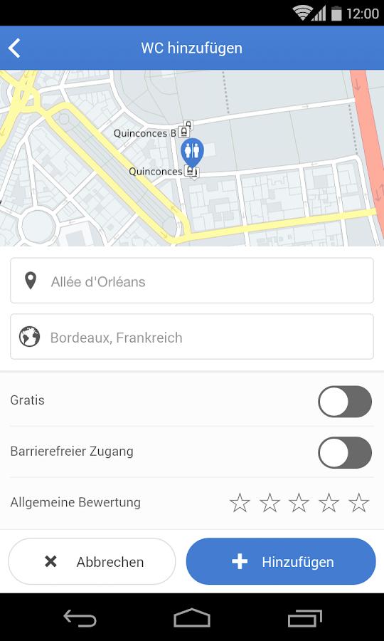 Toilet finder android apps auf google play for Best bathroom finder app