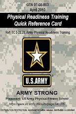 GTA 07-08-003 Army PRT Card