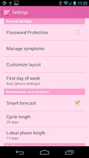 Menstrual Calendar APK for Kindle Fire