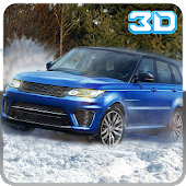 4x4 Winter snow jeep stunt ATV