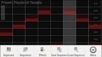 Screenshot of Plasma Sound