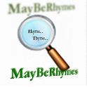 MayBeRhymes logo