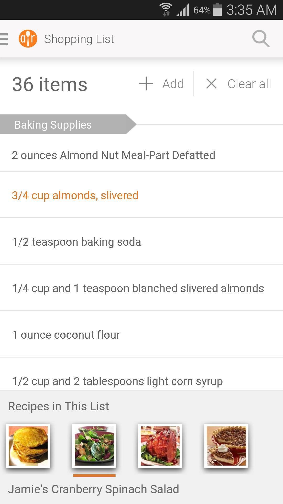 Allrecipes Dinner Spinner screenshot #5