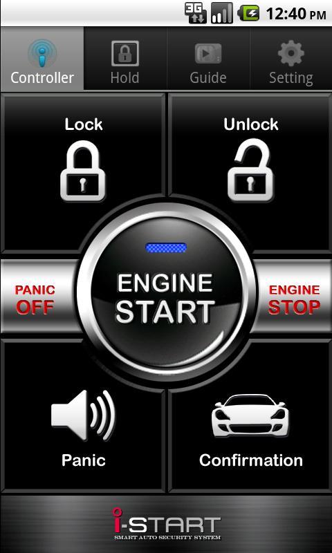 iStart Smart Key - screenshot