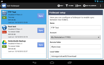 FolderSync Screenshot 36