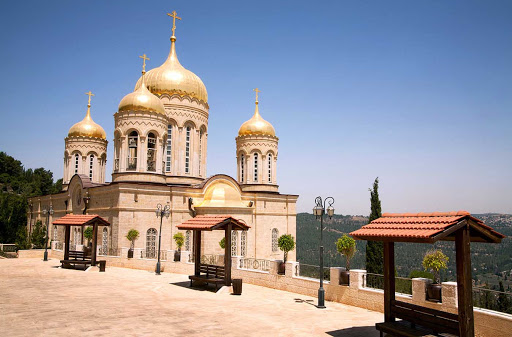 church-magdalene-Jerusalem - The Russian Orthodox Church of Maria Magdalene in Jerusalem.