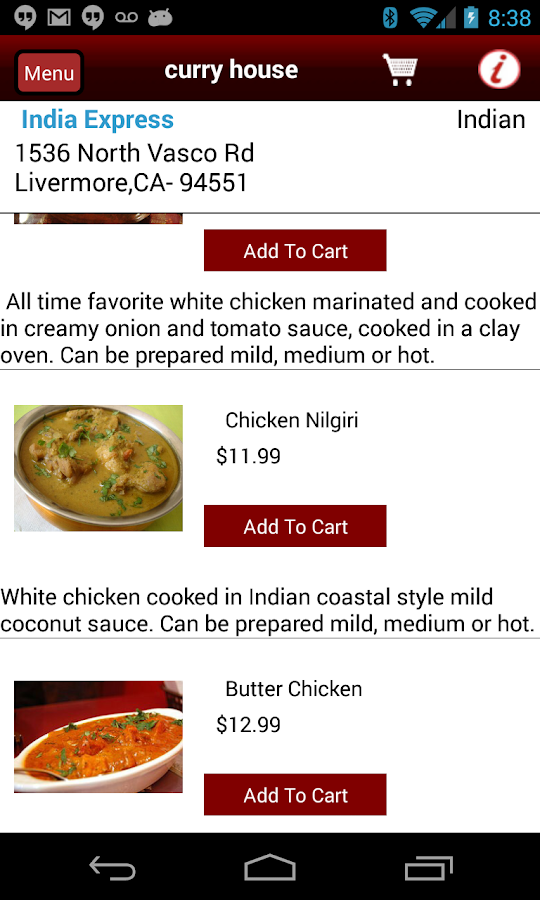 FoodNearU–Restaurant Delivery - screenshot