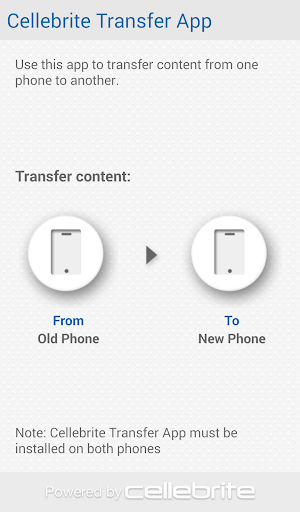 Cellebrite Transfer App