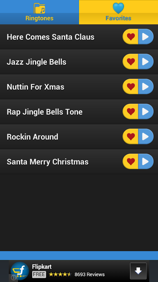 Christmas RingTones Part 1 - screenshot