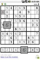 Screenshot of Sudoku for Android