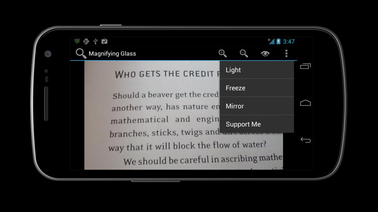 Magnifying Glass- screenshot
