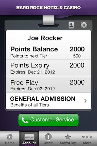Hard Rock Hotel & Casino Vegas - screenshot