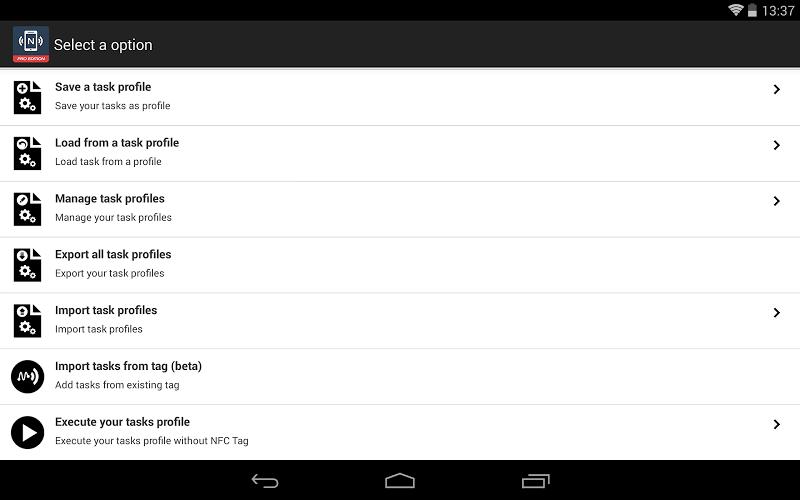 NFC Tools - Pro Edition Screenshot 14